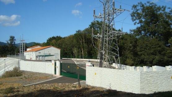 edificación de montaje edificio de mando y control SE Grado 132 kv - 2
